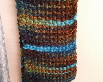 Chunky Thick-Knit Scarf