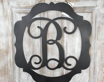 Monogram Metal Door Hangers