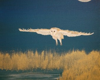 Ghost Owl (original painting)