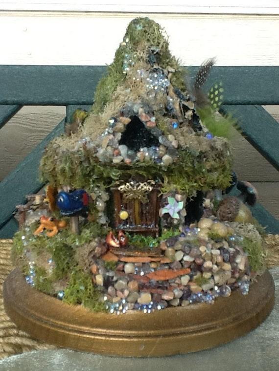 Fairy Cottage Fairy House Fairy Habitat Pixie Woodland