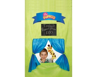 Doorway Puppet Theater - Sock Friends Puppets Puppet Stage Kit