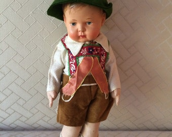 Price Reduction!! Celluloid Doll, German
