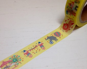 Circus Themed Washi Tape