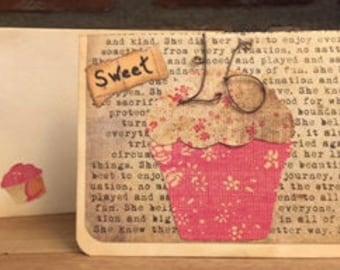 Sweet 16 Cupcake Birthday Card