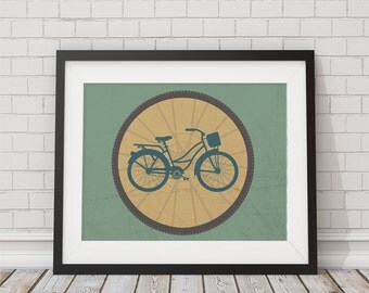Bike Print 8x10, 11x14, 13x19 Matte Options Available