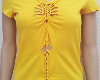 T-shirt sleeve short mode Sun
