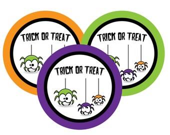 Halloween Stickers, Halloween Labels, treat bag stickers Halloween, Gift, halloween Party Favor, Stickers, halloween, favor labels