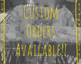 Custom Shopping Cart Cover