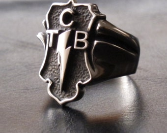 "Taking Care of Business  ""TCB"" Ring"