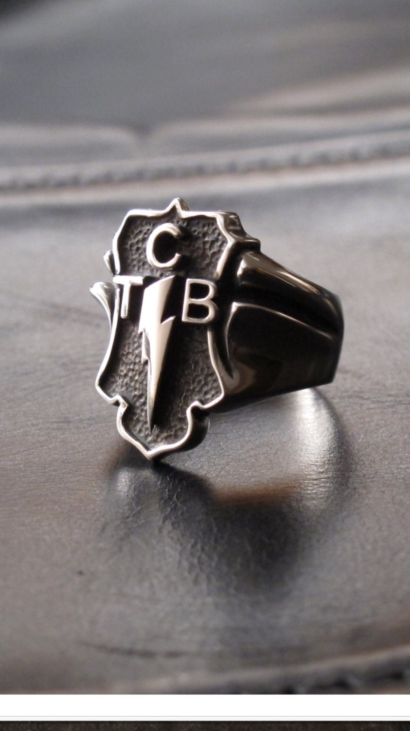 taking care of business tcb ring