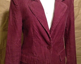 Purple Corduroy Ladies Jacket