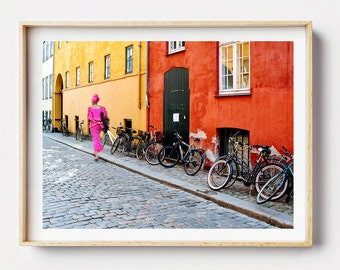 Photographic Print - I Heart Copenhagen Photo Print, Photographic Print, Wall Art, Framed Photo, Street Photography, Photo Print,  Art Print