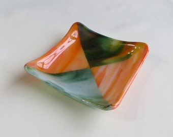 Handmade Fused Glass Dish
