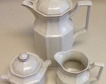 Kensington Staffordshire Vintage Coffee Tea Set Handcrafted in England