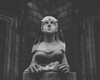 Sphinx Statue, travel photography, Limited Edition Print, Europe, Budapest, fine art photography, europe travel, Hungary, photo