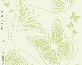 """Butterfly Friends Stencil, 8-1/2"""" x 11"""""""