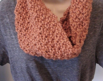 Time for Harvest Cowl, Circle Scarf, Infinity Scarf, Women's Scarf, Knit Scarf, Handmade