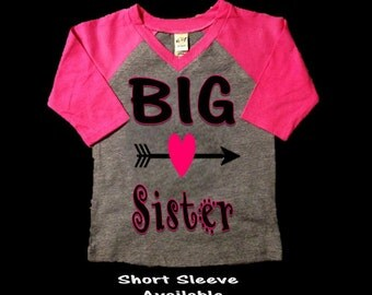 Big Sister Shirt, Little Sister Shirt, Aztec Shirt, Arrow Shirt, Hipster Shirt, Raglan Shirt