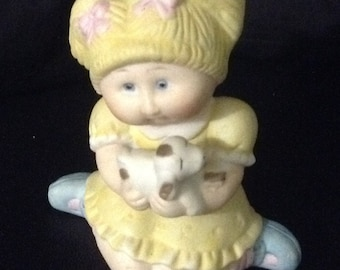Vintage 1984 CABBAGE PATCH Kids Porcelain Figurine