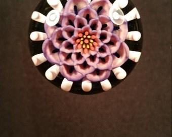 Mandala Flower Pendant
