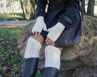 Leg Warmers. Leg warmers womens. Leg warmers cable knit. Leg warmer boot socks .