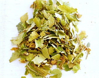 LINDEN FLOWERS - Organic Loose Herbal Tea, Relaxation and Weeknight Spa Treatment