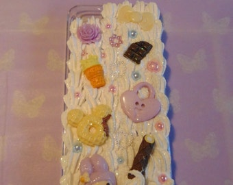 Cute Pastel Decoden Phone Case IPhone 5/5s