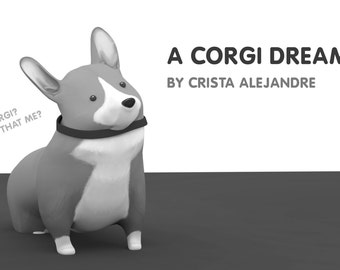 A Corgi Dream (Minicomic)