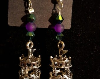 Handmade Carousel earrings