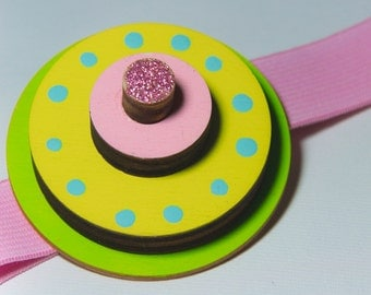 Pop Bang-Cake Flavour, elastic band for hair