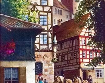 Old city of Nurnberg