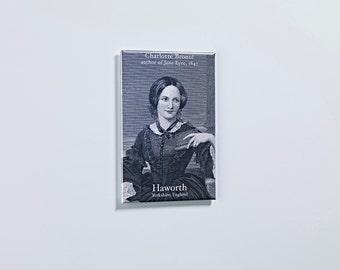 Charlotte Brontë Fridge Magnet