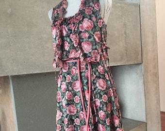 Romantic 2 piece 80's boho dress