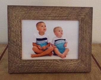 5x7 Barn Wood Style Picture Frame