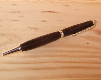 Cocobolo Rosewood Pen with Chrome fittings