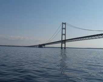 Mackinaw/Mackinac Bridge Lake Huron