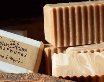 Frankincense & Myrrh Soap