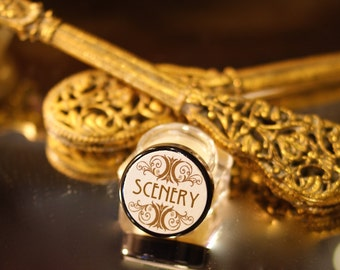 Essential Oil Perfume SCENERY - Fir, Queen Anne's Lace, Ylang Ylang, Frankincense and Myrrh - botanical perfume - organic natural perfume