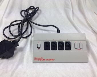 NES Four Score - Nintendo 8bit Controller Adapter - NES Controller Adapter