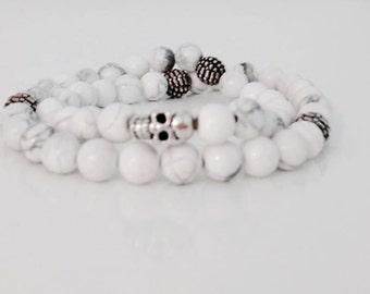 Bracelet unisex skull