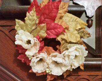 Small Fall Leaf Wreath