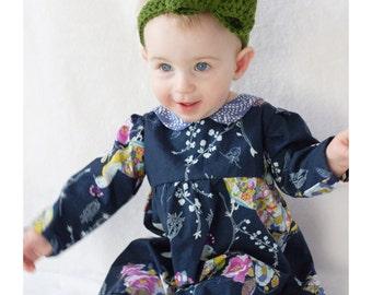 Crochet Bow Skinny Headband (Baby, Toddler & Child)