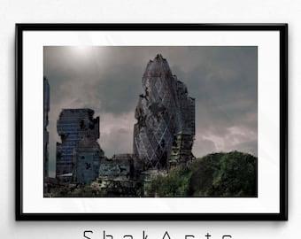 Architecture visuals, Printable architecture, London Architecture, Modern architecture, Architecture art, Building Architecture, London art