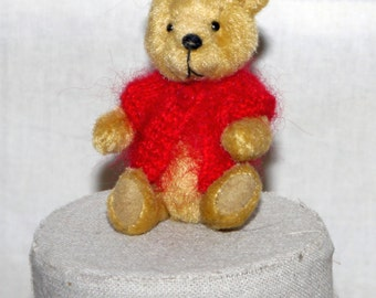 SALE Miniature artist bear