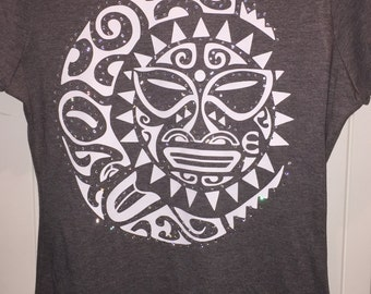 Tribal Sun Shirt*  With or Without Rhinestones