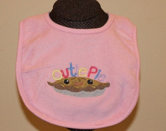 Cutie Pie Bib for Boys and Girls