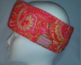 Freeze It! Migraine Headwraps Pop 'o' Pink