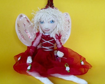 Fairy  'Magic', art doll, handmade doll, colllectable doll