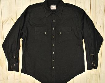 Vintage 1940's/50's ROCKMOUNT Western Shirt / Denver Colorado / Cowpunkabilly /Retro Collectable Rare