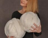 Chunky yarn. 18 mic. 2lbs merino wool, bulky yarn, extra fine merino wool, super chunky yarn, super thick merino wool